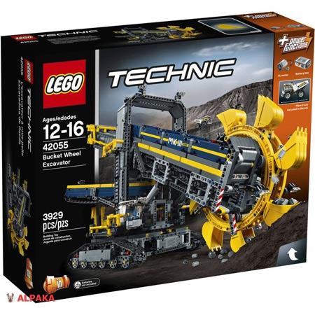 Лего Техник 42055 Роторный экскаватор