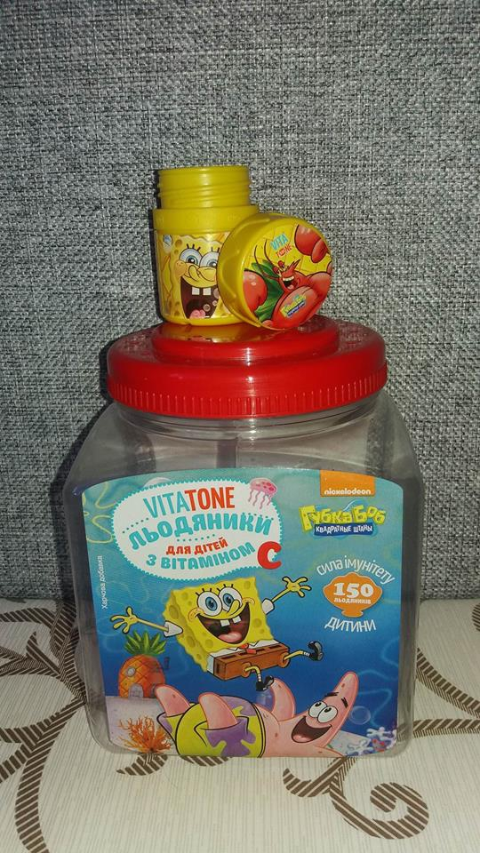 VitaTone Kids шипучие мультивитамины - витамины шипучки