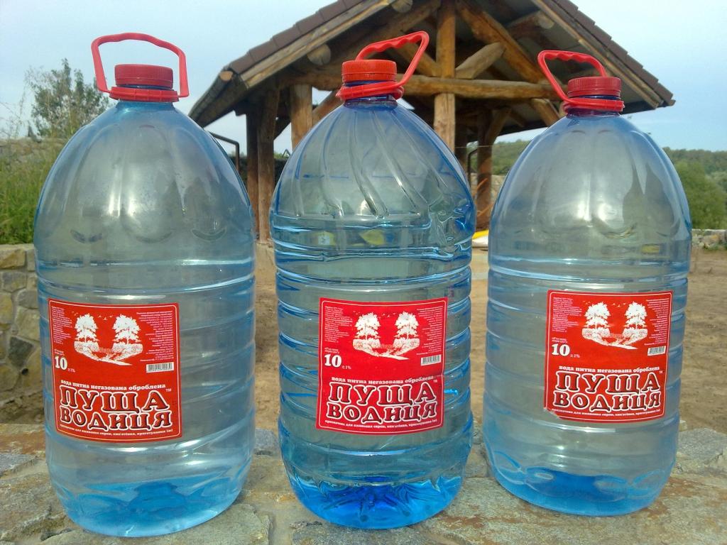МегаМаркет - Мутная бутилированная вода