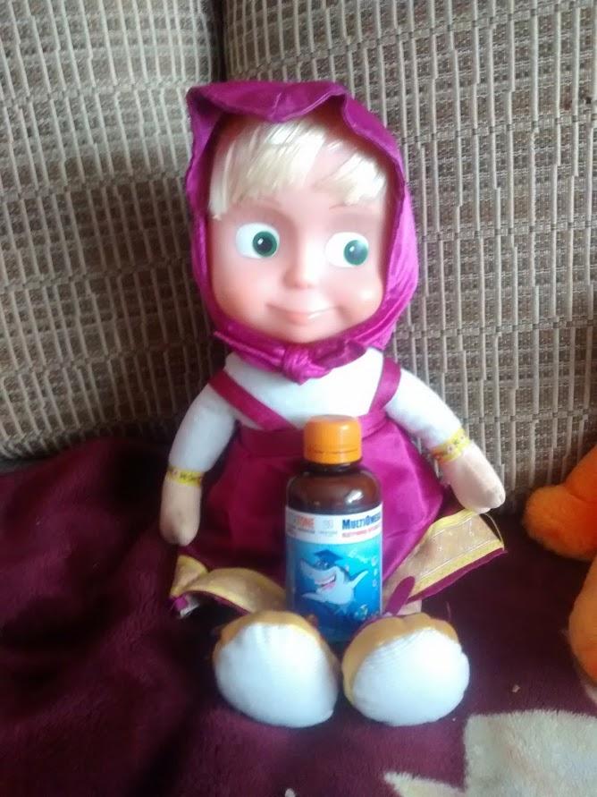 VitaTone витамины для детей с комплексом Омега-3 - витамины для отличницы