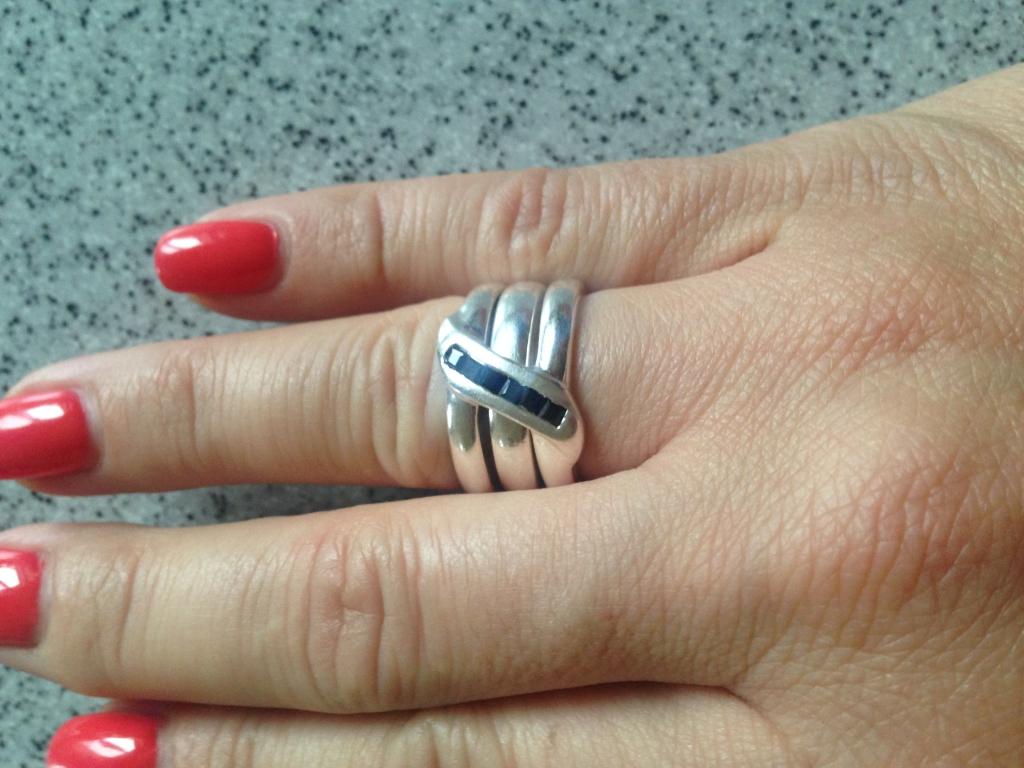 Интернет-магазин  Delicatesse - кольцо серебряное Delicatesse