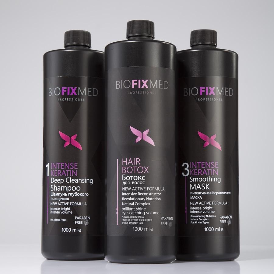 Кератин и ботокс для кератинового выпрямления и восстановления волос Bio Fix Med