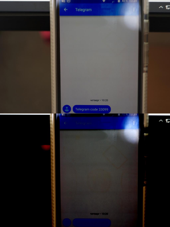 экран тупо как новый без следов выгорания
