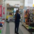 Отзыв о Велмарт: Быдло-охранник в Велмарт