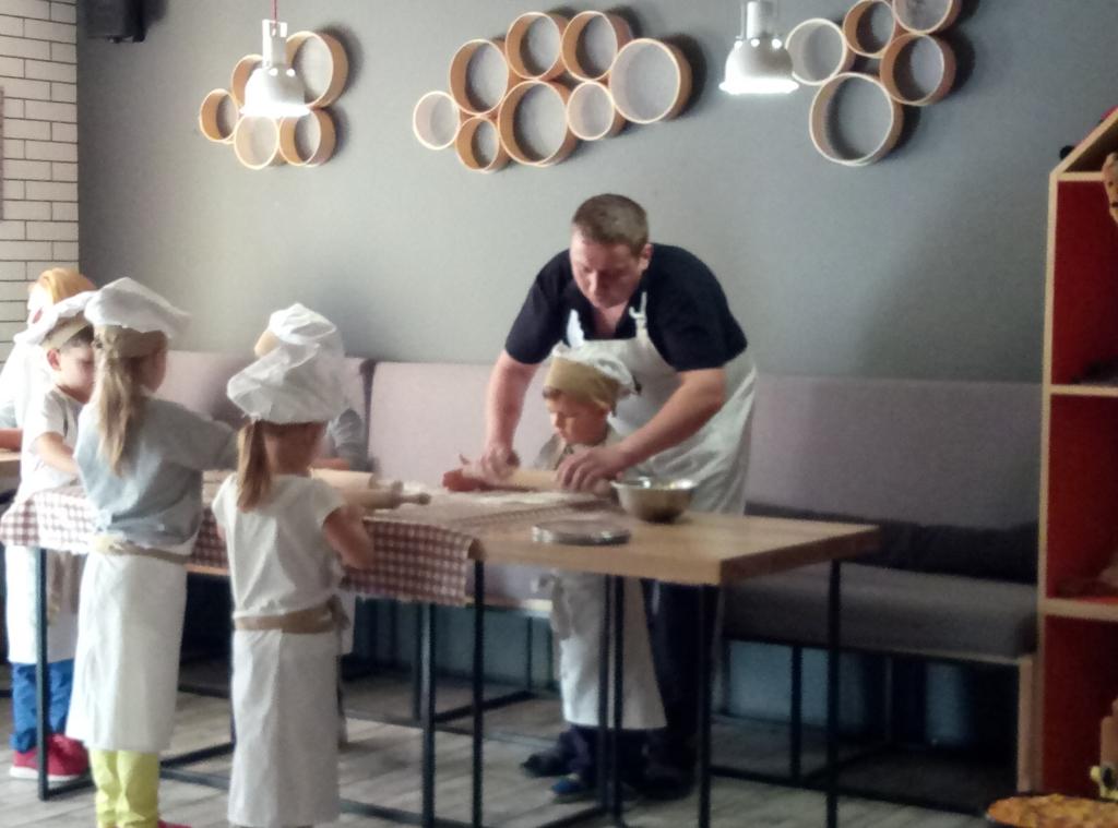 Бодо - МК приготовление пиццы для детей на двоих