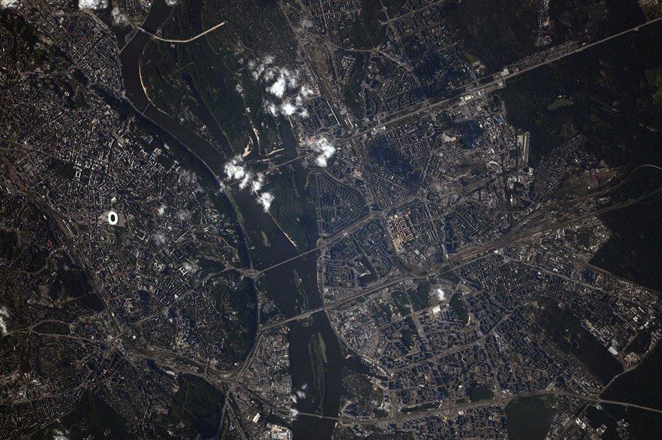 Комфорт Таун - Видно даже с космоса!