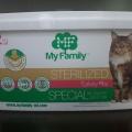 Сухой корм для кошек My Family отзывы