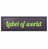 Label of world этикетки от производителя