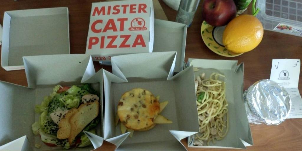 Mister Cat пиццерия - Ланчи ужасные
