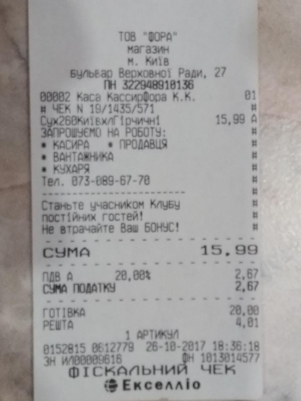 ФОРА - Ужасные магазины,хамское отношение к покупателю