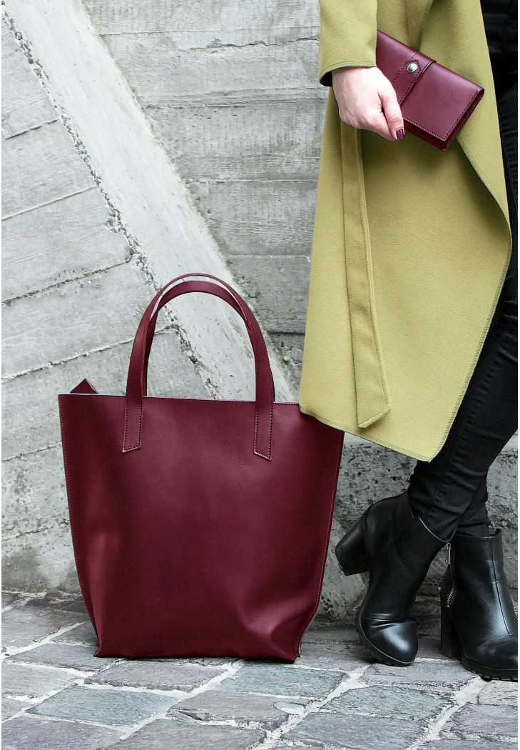Сумка шоппер D.D. виноград - Стильная сумка от украинского производителя