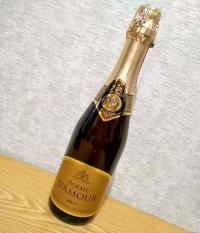 Российское шампанское белое брют Вилаш Poeme D'Amour