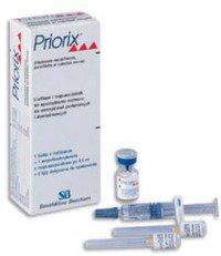 Прививка от кори Приорикс (Priorix)