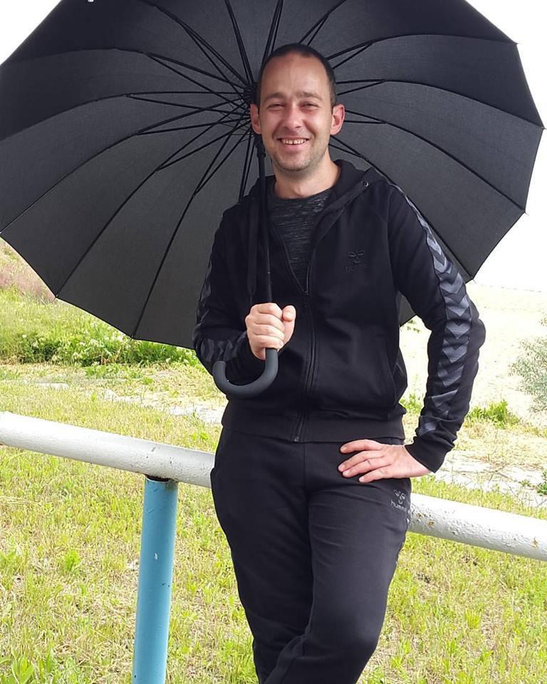 Зонт мужской трость