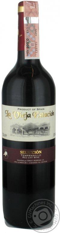 Вино La Vieja Estacion Tempranillo