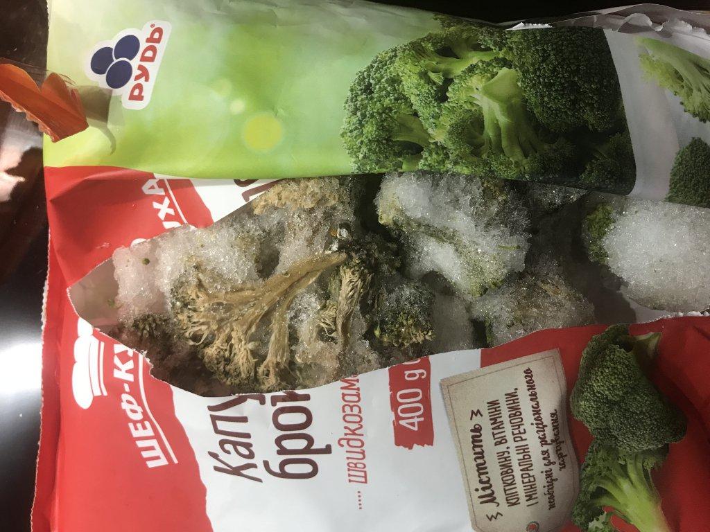Компания «Рудь» - Гнилая замороженная брокколи