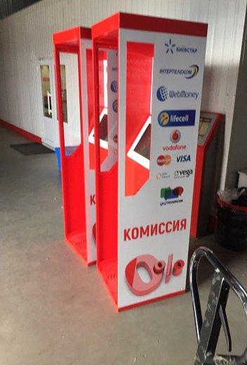 """Каталог моделей платежных терминалов Moneybox.net.ua - Модель терминала """"Английская будка"""" , производство Moneybox.net.ua"""