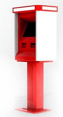 """Каталог моделей платежных терминалов Moneybox.net.ua - Модель терминала """"Цапля"""" , производство Moneybox.net.ua"""