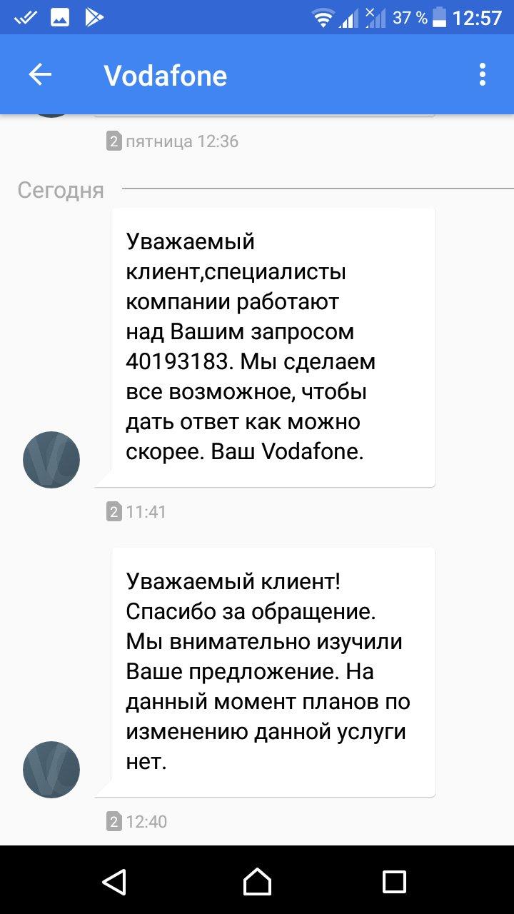 Vodafone Украина - Водафон мошенники