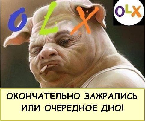 OLX - ОЛХ окончательно зажрались или очередное дно!