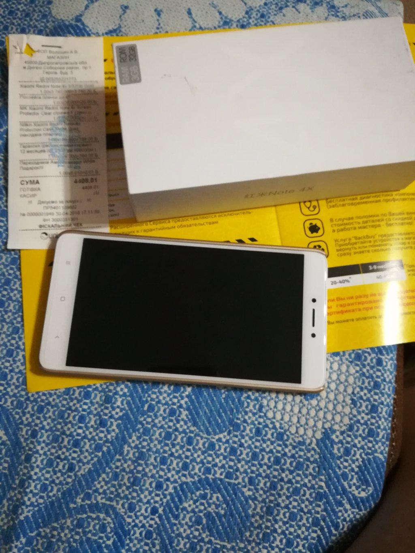 touch.com.ua - Xiaomi Redmi Note 4X 3/32 GB