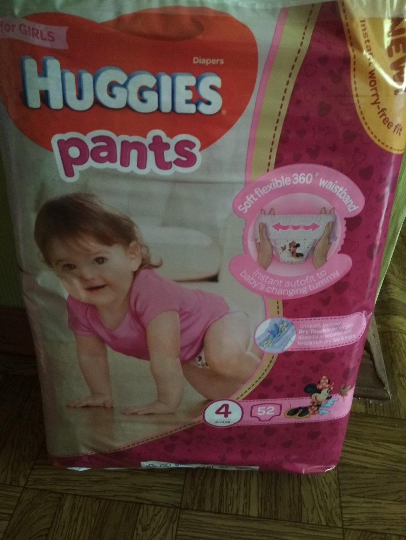 Детские подгузники Подгузники-трусики Для девочек ТМ Huggies - Не ошиблась с выбором и всем советую .