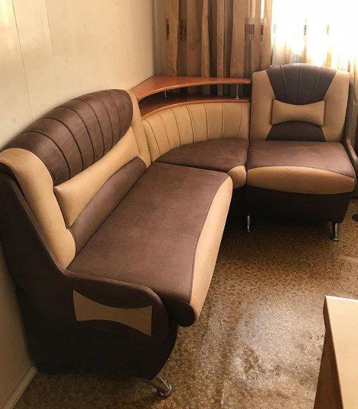 Криворожская Мебельная Компания КМК - Закохана в ваш кухонний куточок із тканини