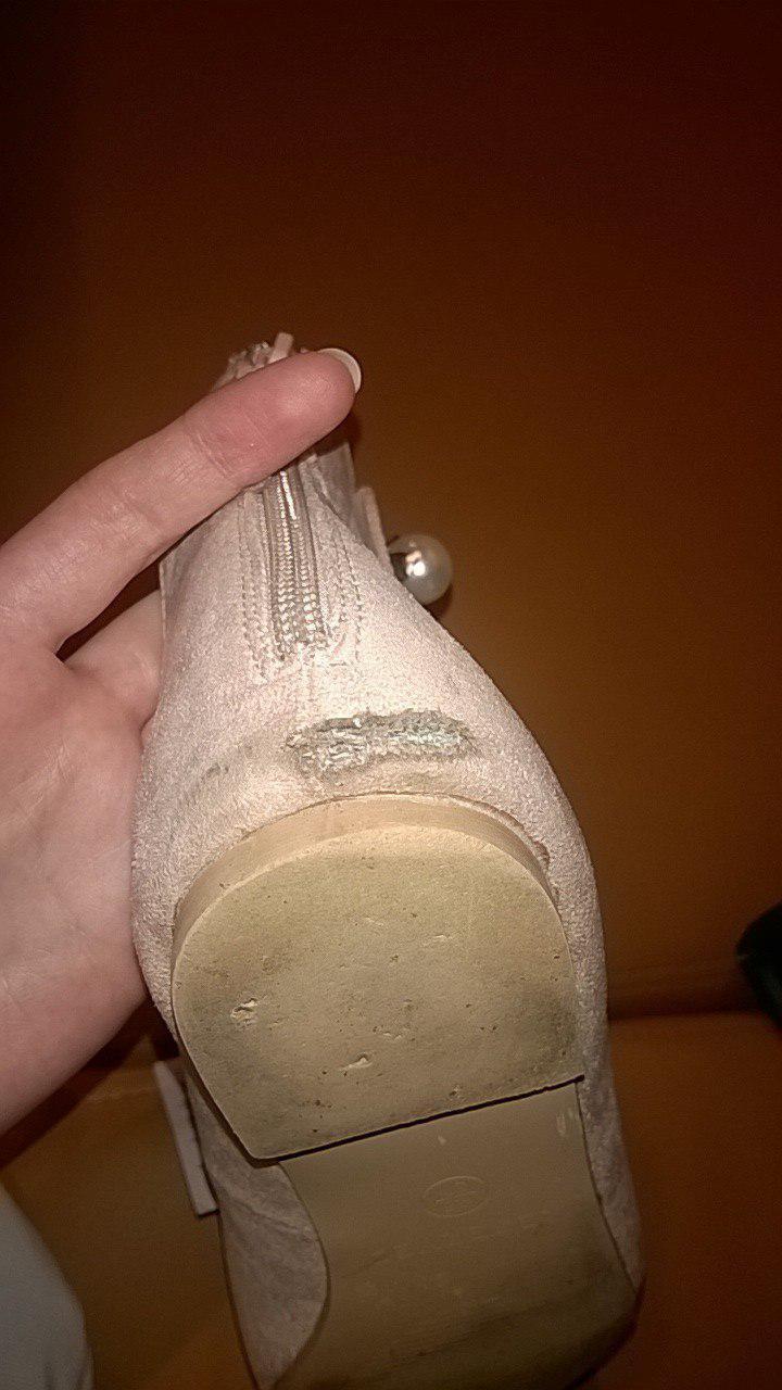 Reserved - Обувь разваливается на второй день после покупки!!!!!!!!!!!!!!!