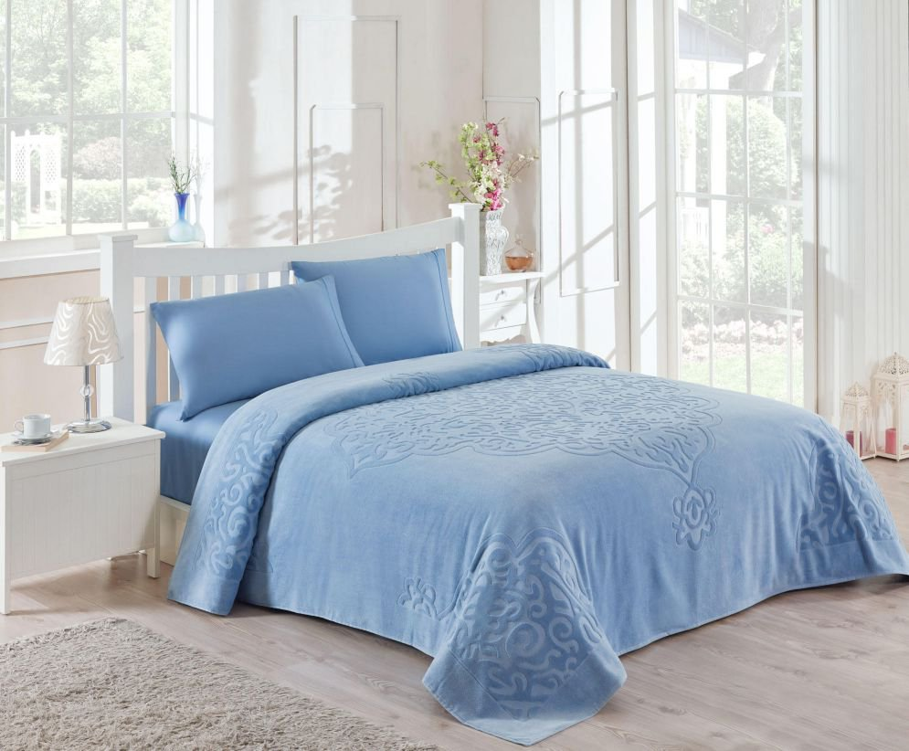 Deniz shop текстиль для дома - Постельное белье с махровой простыней