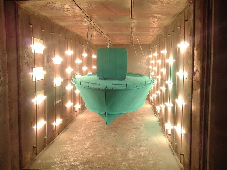 Завод металлоконструкций БЗВК - Реставрация лодки