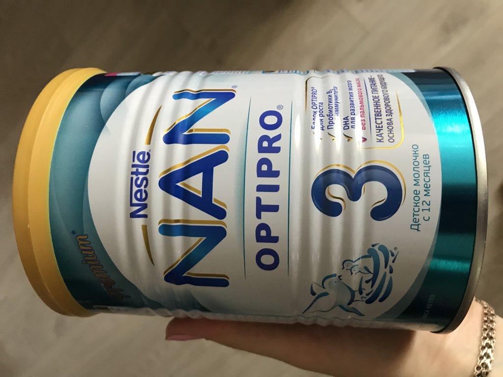 Детсокое молочко Nestle nan optipro 3 - Идеально подходит моему малышу.