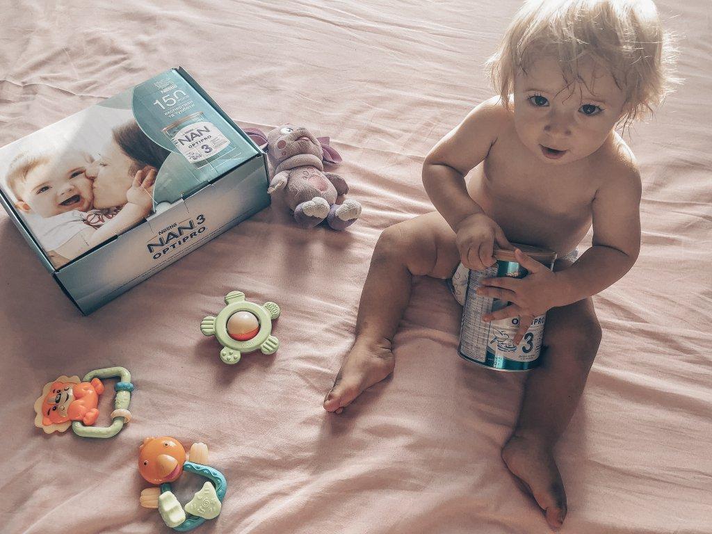 Детсокое молочко Nestle nan optipro 3 - Самая любима смесь