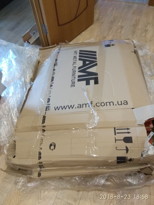 Интернет-магазин мебели AMF - Это ужас.Прислали б/у стол