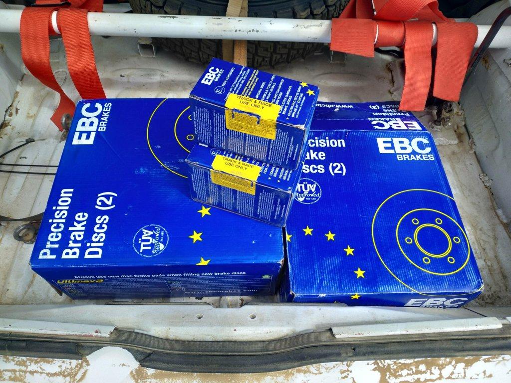 ebcbrakes.kiev.ua интернет-магазин - Тормоза EBC на раллийном автомобиле