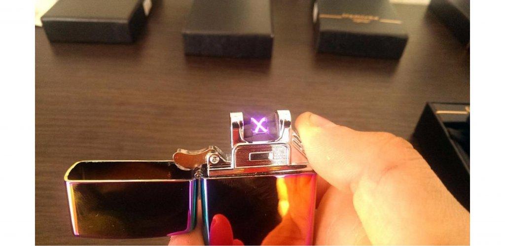 asushit.com интернет-магазин - Купил Оригинал Tesla электронная зажигалка USB с двойной дугой Zippo