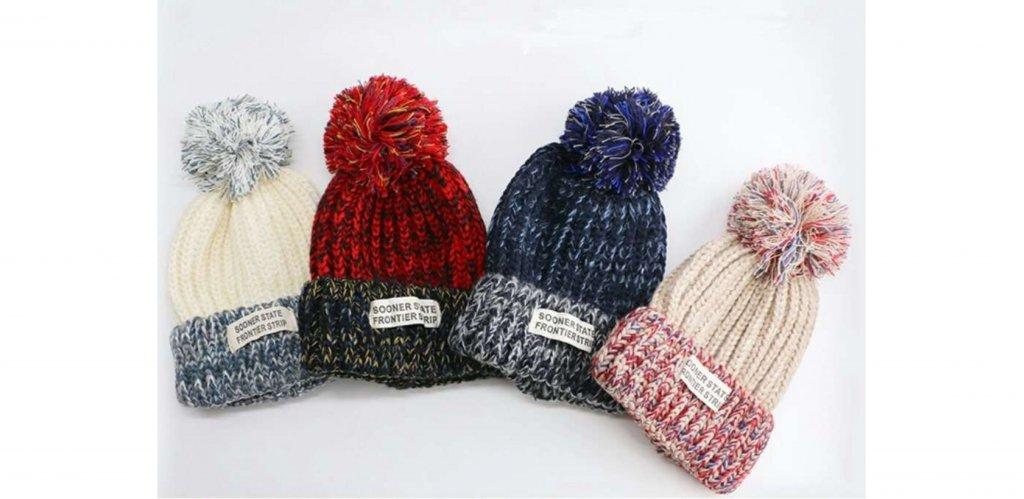 asushit.com интернет-магазин - Зимняя вязаная шапка Sooner с балаболом