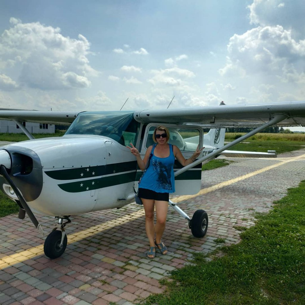 Donum - Полет на самолете Cessna