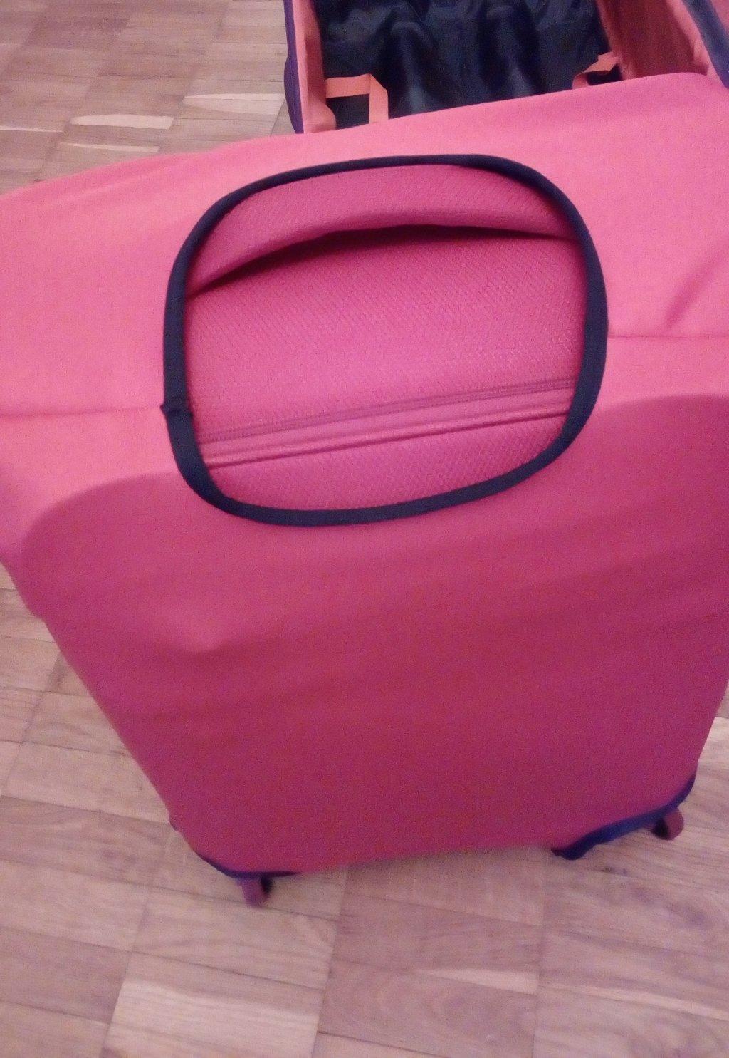 Чехол для чемодана - Coverbag – плохое качество, непрофессионализм и хамство!