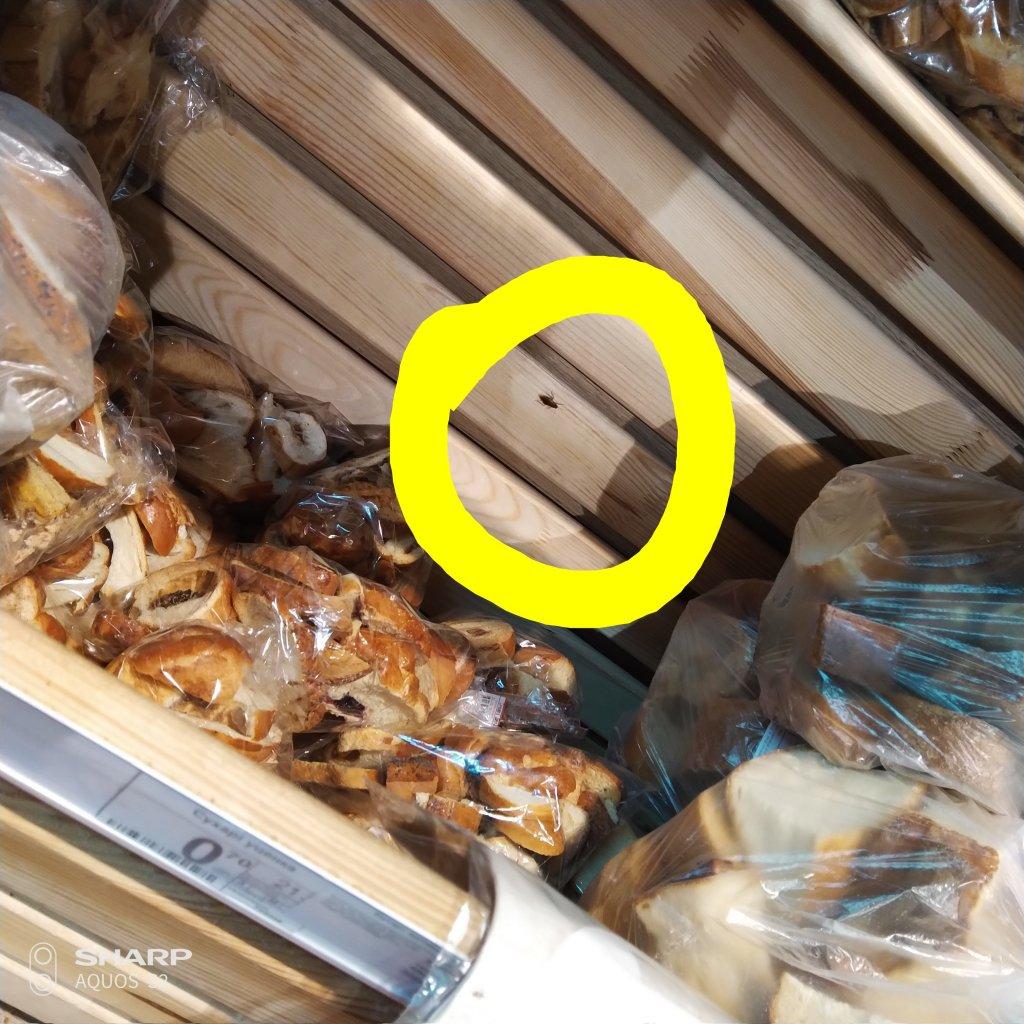 Фуршет - Тараканы на хлебной полке