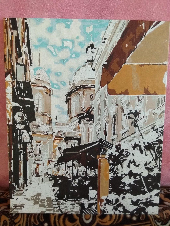 Raskras.com.ua - картина по номерам - Отзыв о картине-раскраске с пейзажем Львова