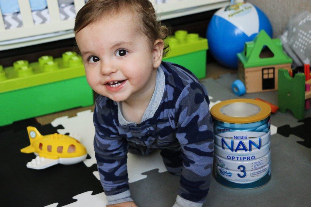 Детсокое молочко Nestle nan optipro 3 - Нам понравилась эта смесь!