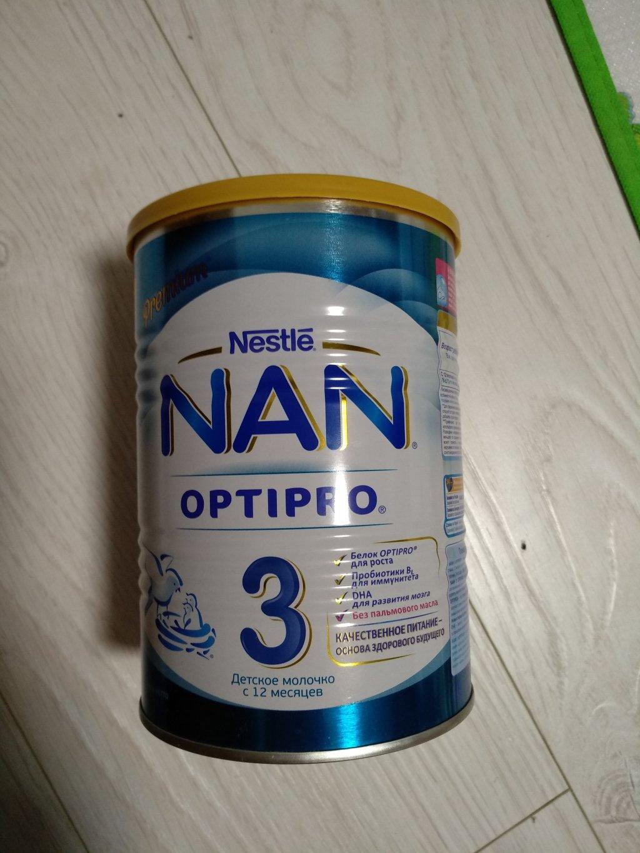 Детсокое молочко Nestle nan optipro 3 - Попробовали Nestle NAN 3 Optipro. Остались очень довольны