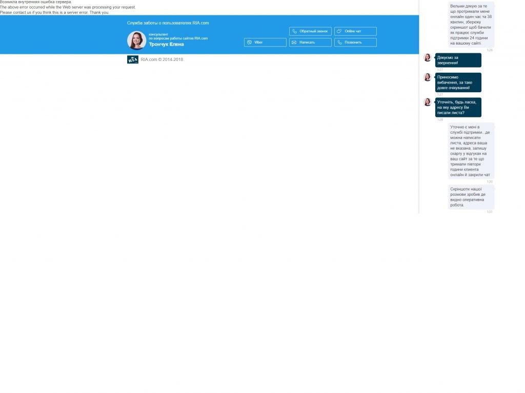 Dom.ria - Як працює служба підтримки