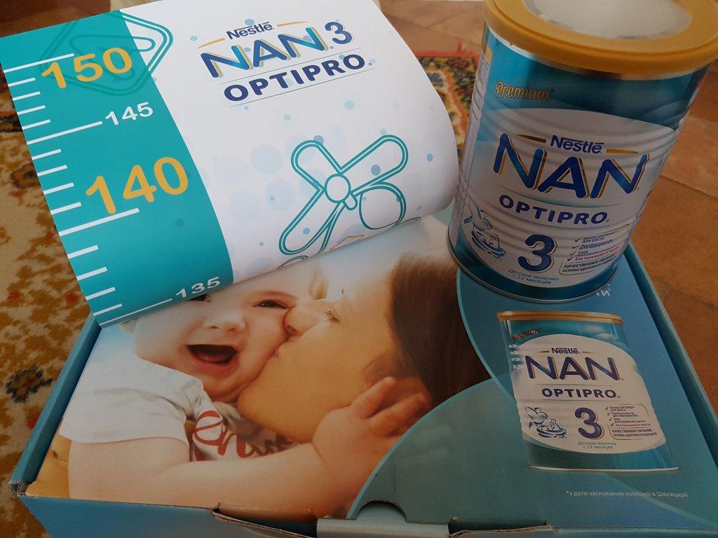Смесь Nestle NAN 3 с 12 месяцев - Чудова суміш