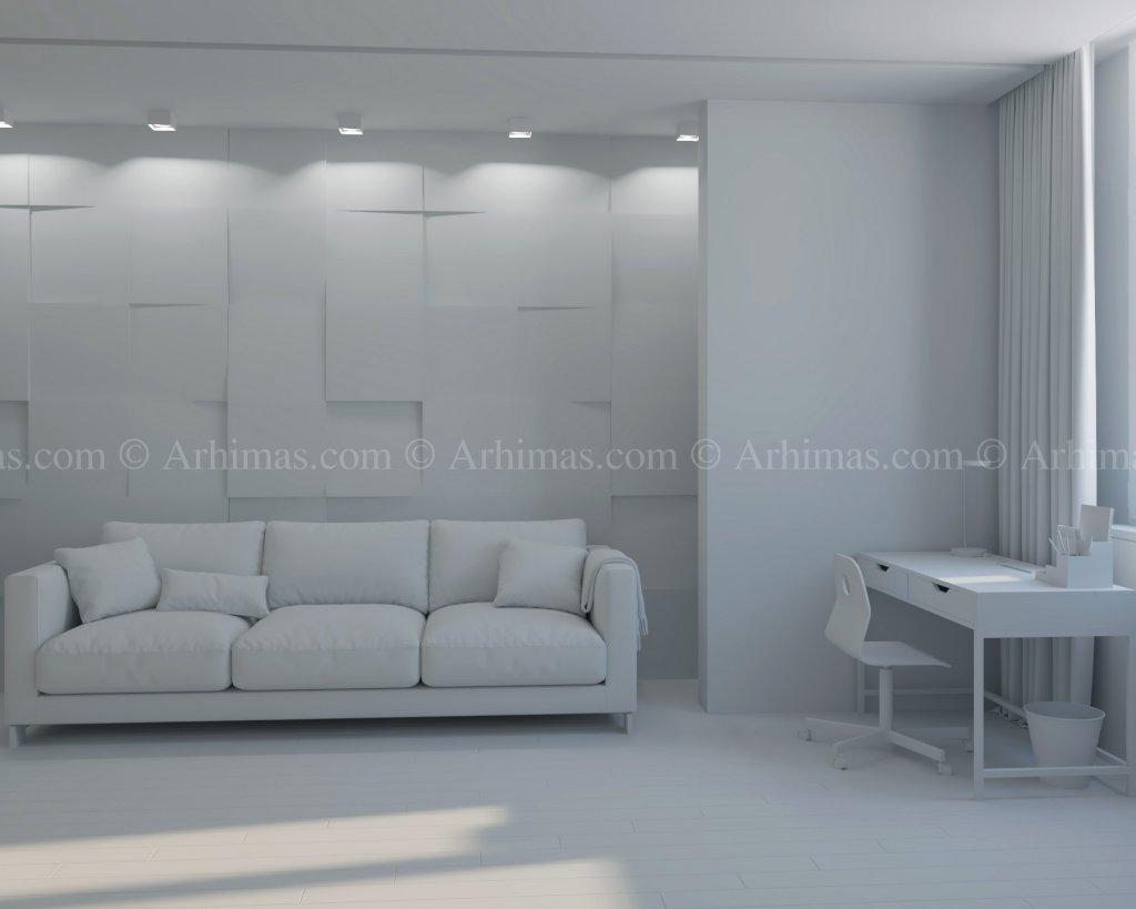 Архитектурная мастерская Архимас - Дизайн интерьера Современный стиль