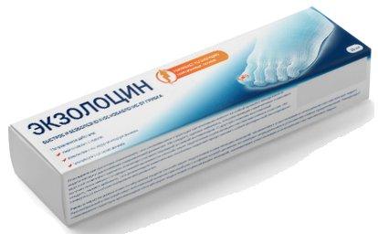 Противогрибковый гель Экзолоцин - Вообще не помогает