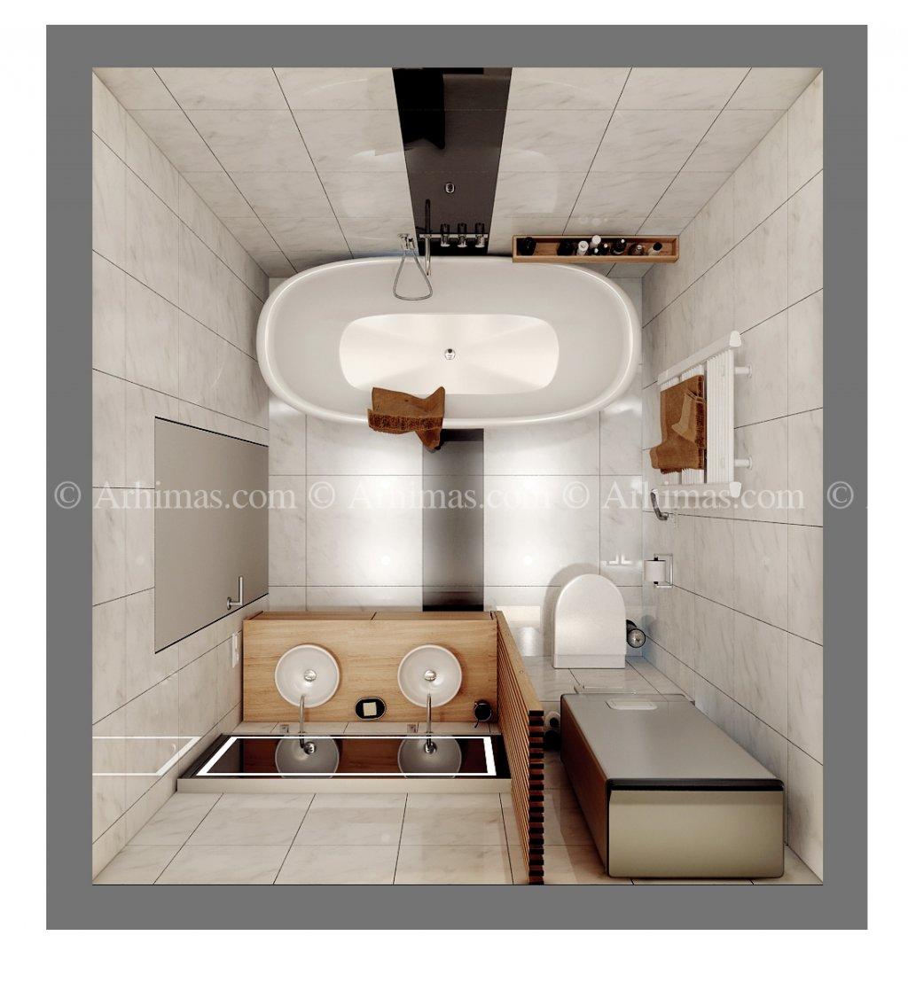 Архитектурная мастерская Архимас - Квартира в Жемчужине