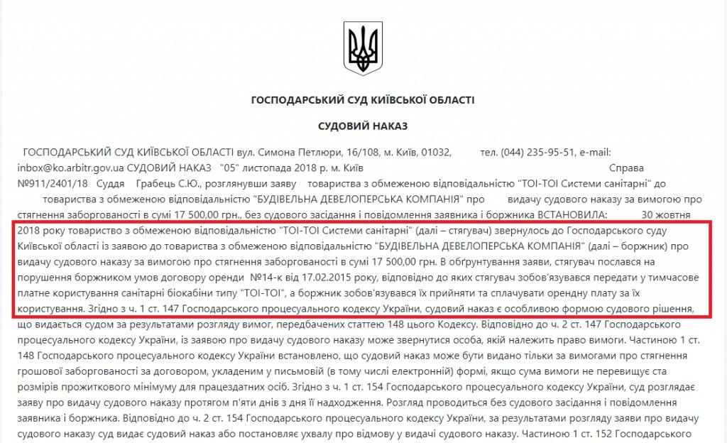 ЖК Пражский квартал-2 - BD холдинг не в состоянии оплатить БИО-ТУАЛЕТЫ !!!