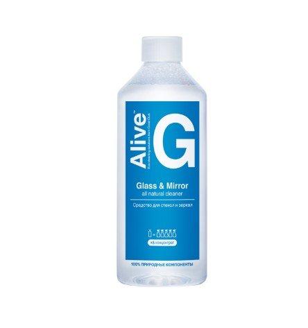 Alive G Средство для стекол и зеркал - хорошее средство