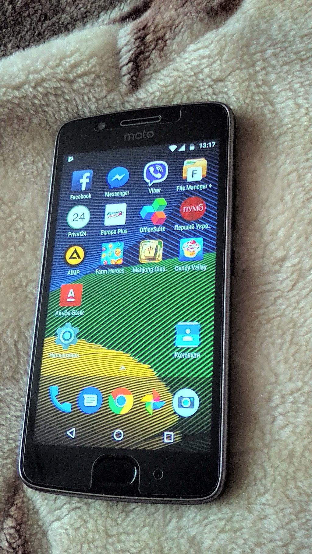 Интернет-магазин FOZI.COM.UA - Приобрел новый смартфон Motorola Moto G5